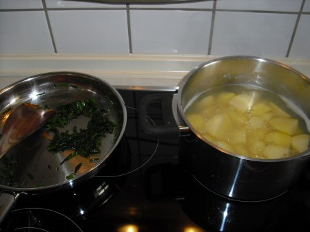 kartoffeln/schnittlauch